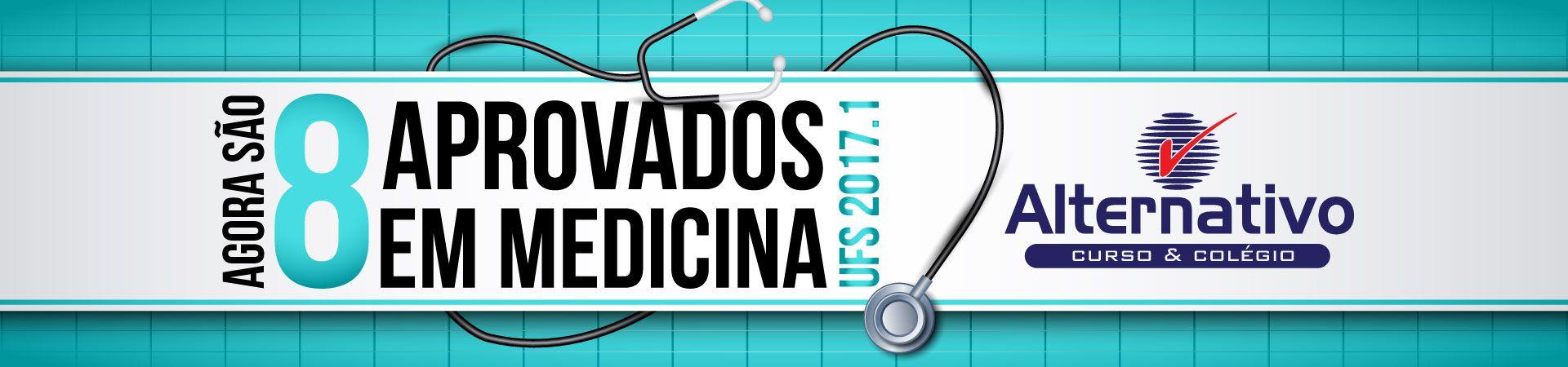 8 Aprovados Medicina