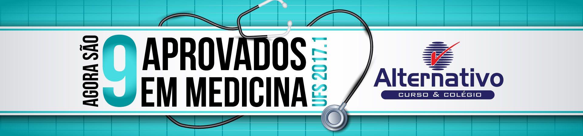 9 aprovados Medicina